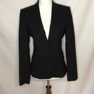 Theory black wool blazer! Size zero 0